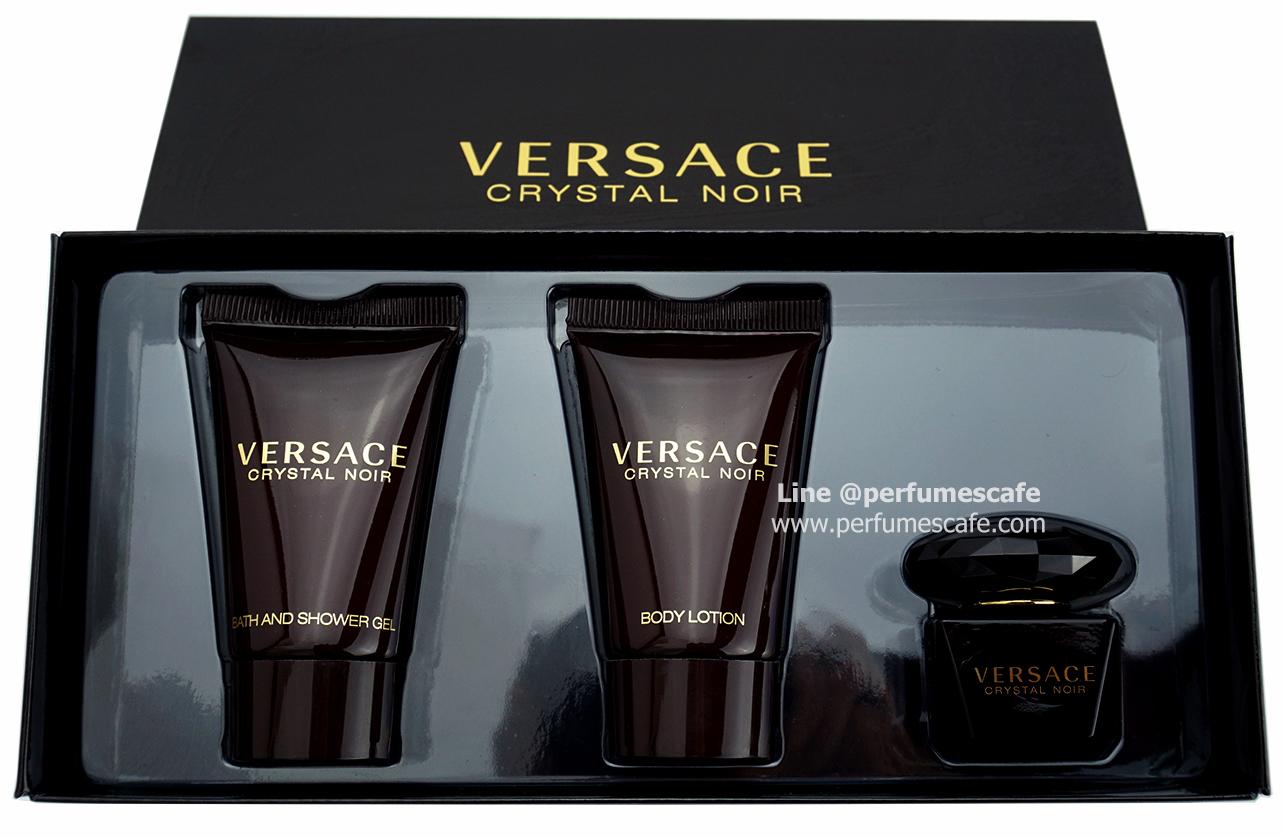 น้ำหอม Versace Crystal Noir Mini Gift Set