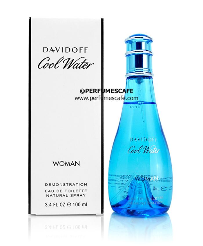 น้ำหอม Davidoff Cool Water for Women ขนาด 100ml. กล่องเทสเตอร์