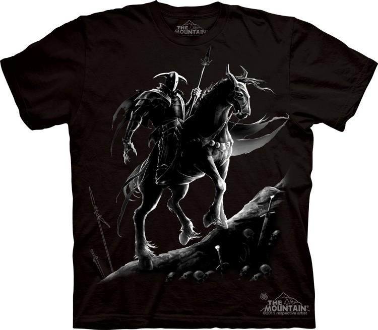 Pre.เสื้อยืดพิมพ์ลาย3D The Mountain T-shirt : Dark Knight
