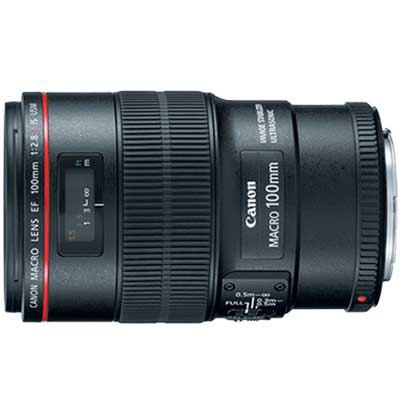 Canon EF 100mm F/2.8L Macro IS USM with Lens Case LP1219 + (Lens Hood ET-73) ประกันศูนย์