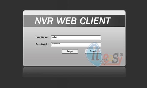 EasyN NVR WEB CLIENT