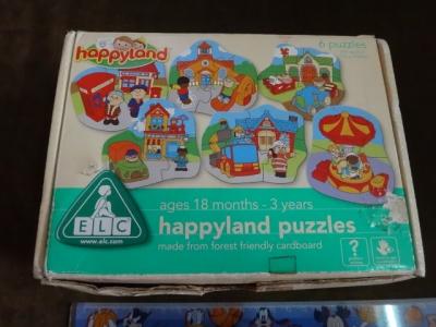 จิ๊กซอว์ happyland puzzles