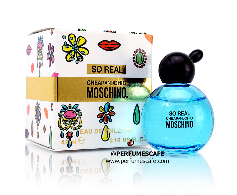 น้ำหอม Moschino Cheap & Chic So Real ขนาดทดลอง 4ml แบบแต้ม