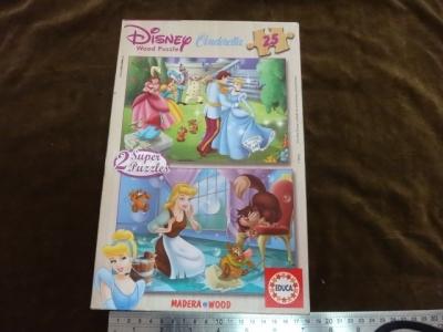 จิ๊กซอว์ 25x2 ชิ้น wood puzzle Cinderella (งานไม้ค่ะ