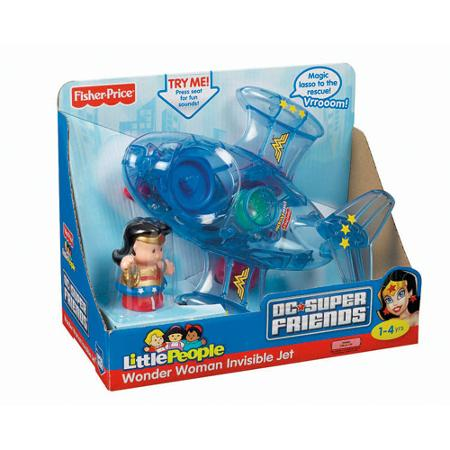 Fisher Price Little People Wonder Woman Invisible Jet.