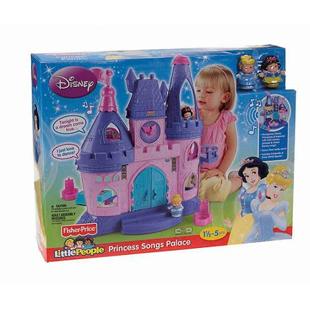 z Fisher Price Little People Disney Princess Songs Place.