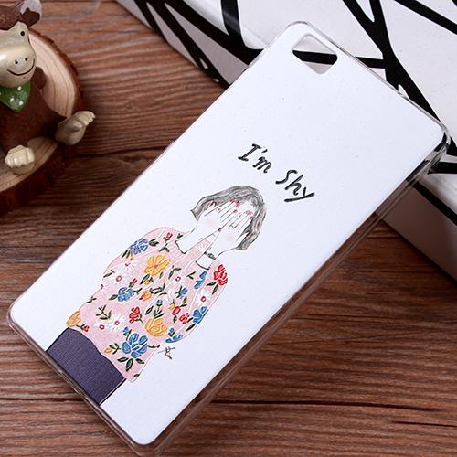 เคส Huawei P8 -เคสแข็งพิมพ์ลาย (Pre-oder)