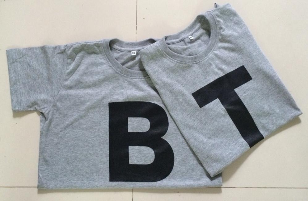 เสื้อตัวอักษร ภาษาอังกฤษ alphabet A-Z ตัวใหญ่เดี่ยว--3