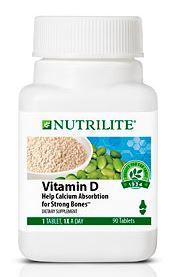 NUTRILITE Vitamin D ช่วยให้การดูดซึมแคลเซียมเข้าสู่ร่างกายได้ดียิ่งขึ้น ลดความเสี่ยงโรคกระดูกพรุน Amway USA