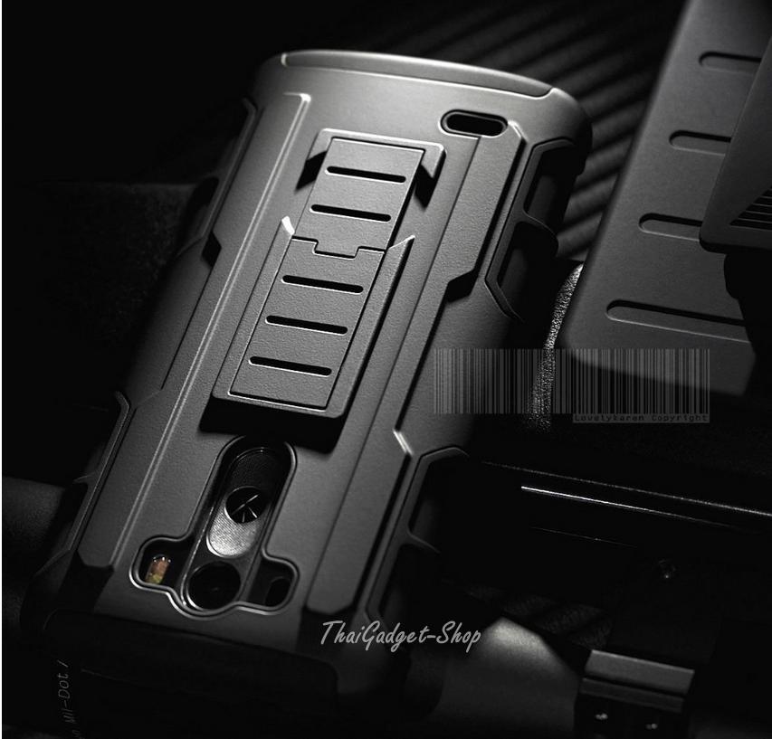เคส LG G3 ตรงรุ่น (Future Armor Impact Skin Holster Protector Swivel)