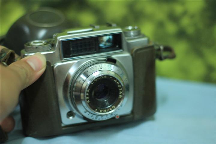 T0701 กล้องถ่ายรูปเยอรมันโบราณ AGFA Apotar