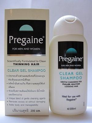 Pregaine Shampoo 200 ml (แชมพูแก้ปัญหาผมร่วง ผมบาง)