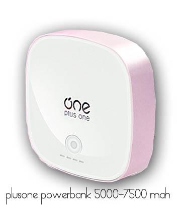 แบตสำรอง Beyond Power Bank Plus One 7500 mAh สีชมพู Pink