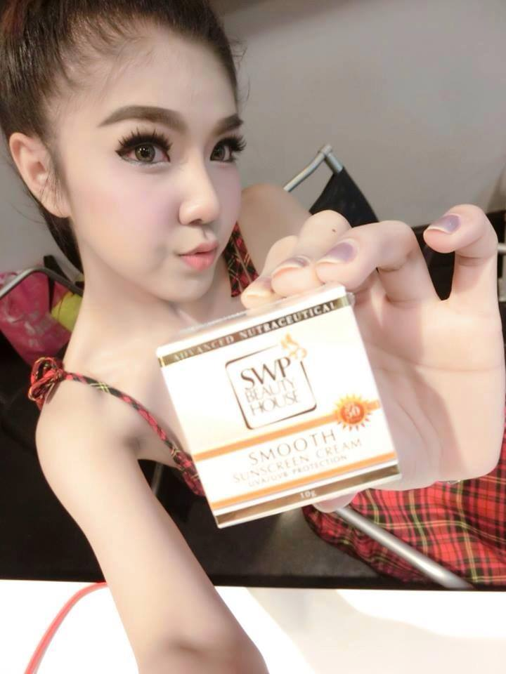 SWP Smooth Sunscreen Cream เอส ดับบลิว พี สมูทซันสกรีนครีม ปลีก280