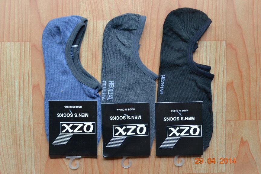 S029**พร้อมส่ง**(ปลีก+ส่ง) ถุงเท้าข้อกุด แบบสีล้วน ไม่มีลวดลาย คละ 3 สี มี 12 คู่ต่อแพ็ค เนื้อดี งานนำเข้า(Made in China)