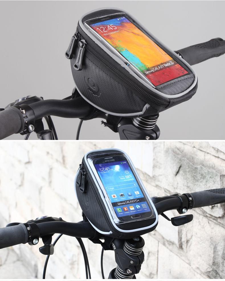 กระเป๋าบนแฮนด์จักรยาน