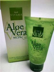 (ซื้อ3 ราคาพิเศษ) Vitara Aloe Vera Gel 99.5% 70g เจลว่านหางจระเข้เข้มข้น ลดการระคายเคือง เติมความชุ่มชื้นสำหรับผิวธรรมดา-แพ้ง่าย