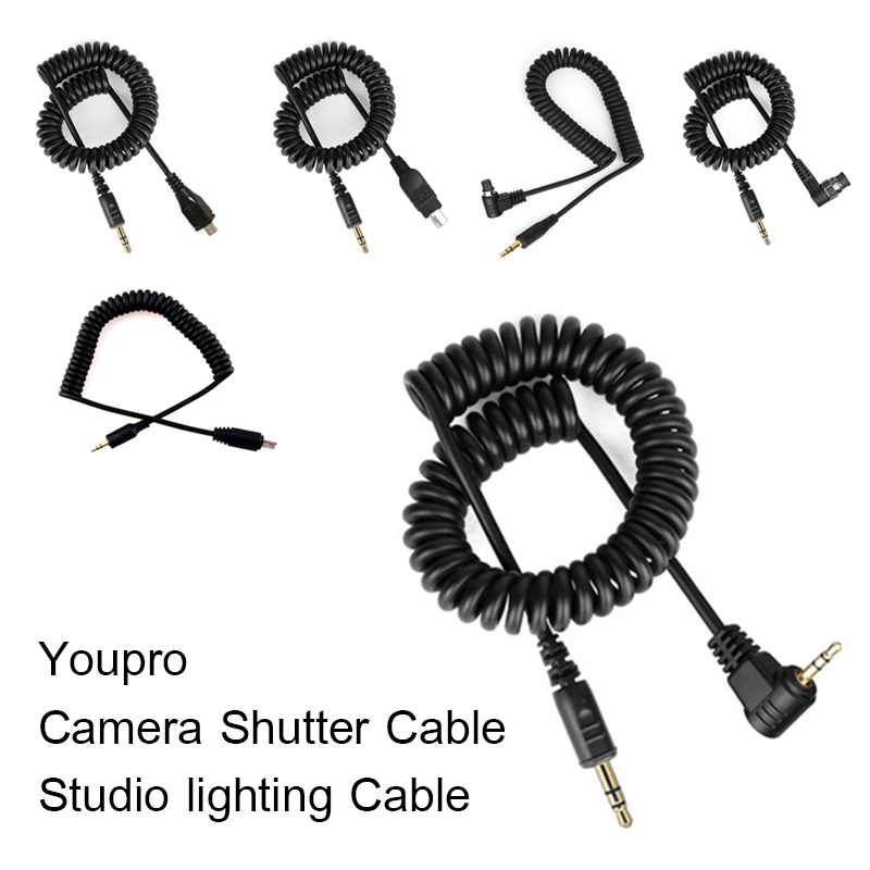 Youpro Camera Shutter Cable/Studio lighting Cable