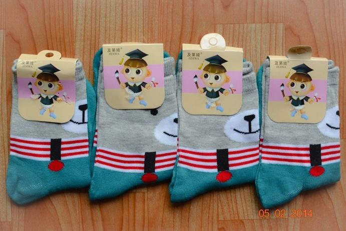 S151**พร้อมส่ง** (ปลีก+ส่ง) ถุงเท้าแฟชั่นเกาหลี ข้อยาว เนื้อดี งานนำเข้า(Made in China)