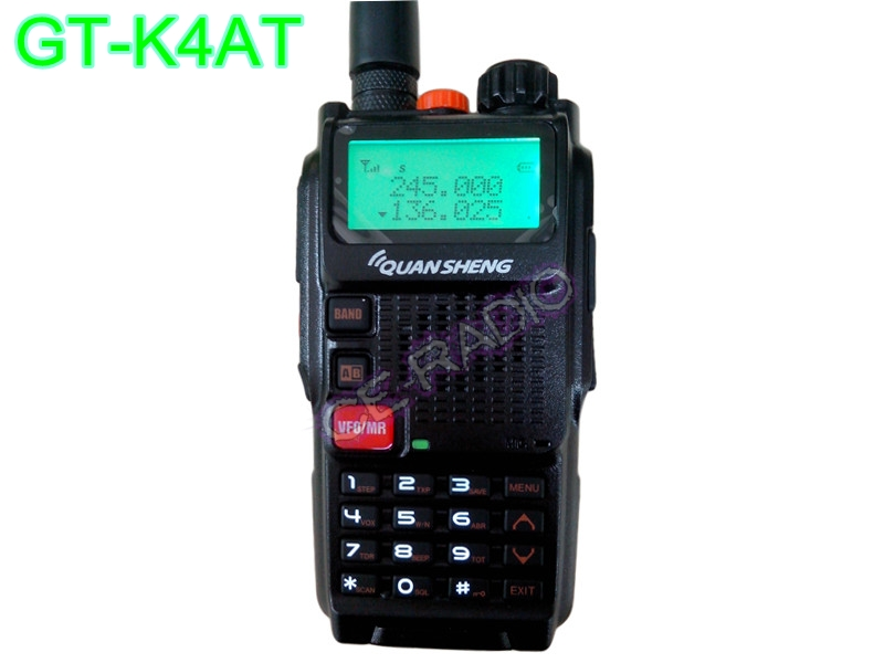 QUANSHENG GT-K4AT 2ความถี่ VHF/VB