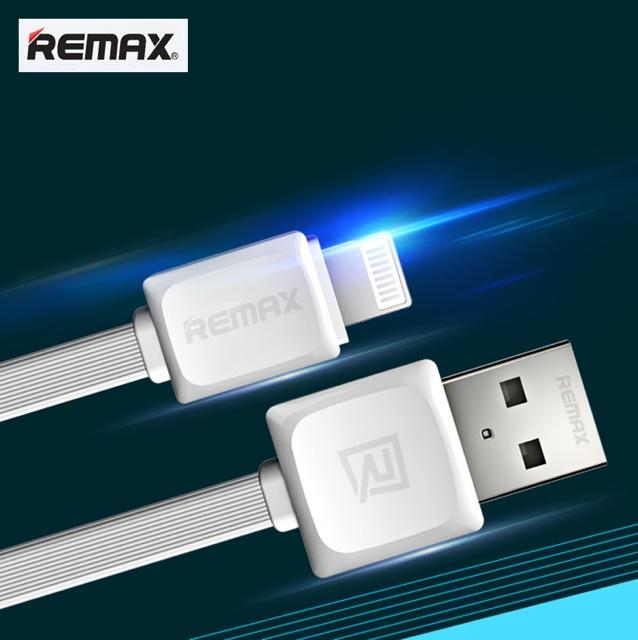 สายชาร์จ iPhone 5 REMAX FAST Data Cable RC-008i (สายแบน) แท้ ราคา 59 บาท ปกติ 160 บาท