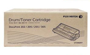 Fuji Xerox CT350251 ตลับหมึกโทนเนอร์ สีดำ Black Original Toner Cartridge