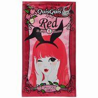 โฉมใหม่!!!เพจเกจเจ้าหญิง Quis Quis Spicy Red สีแดง ทรีตเม้นท์เปลี่ยนสีผมชั่วคราวหอมกลิ่นแอ๊ปเปิ้ล อยู่ได้ 7 วัน