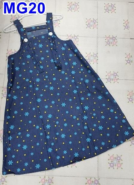 #เอี้ยมกระโปรงคลุมท้องแฟชั่น ผ้าคอนตอน สีน้ำเงิน ลายดอกไม้ สายปรับได้ 4 ระดับมีกระเป๋า 2ข้าง สวมใส่กับเสื้อน่ารักฝุดๆเลยจร้า