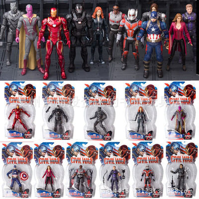 """Marvel Figure 6"""" Captain America Civil War (มีให้เลือก 11 แบบ)"""
