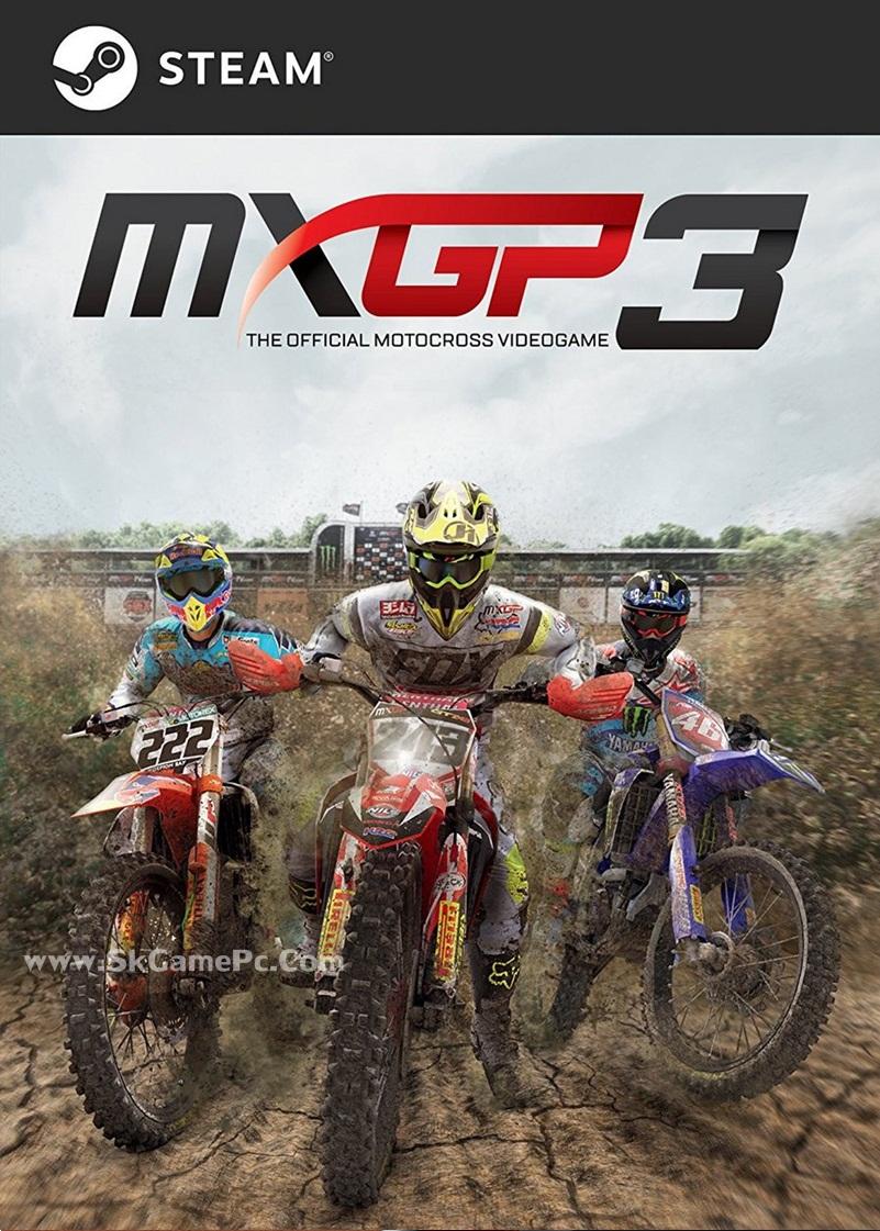 MXGP3 The Official Motocross Videogame ( 3 DVD )