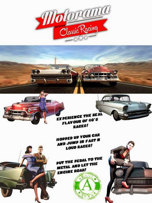Motorama Classic Racing ( 1 DVD )