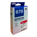 Epson T678390 (678) หมึกพิมพ์อิงค์เจ็ต สีม่วงแดง High Capacity