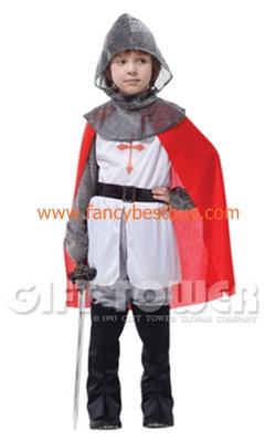 ชุดแฟนซีเด็กแบบชุดนักรบโรมันหรือชุดอัศวินหรือชุดทหารเสือ มีขนาด M, L, XL