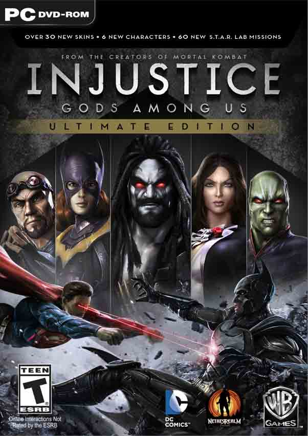 Injustice Gods Among Us Ultimate Edition ( 5 DVD )
