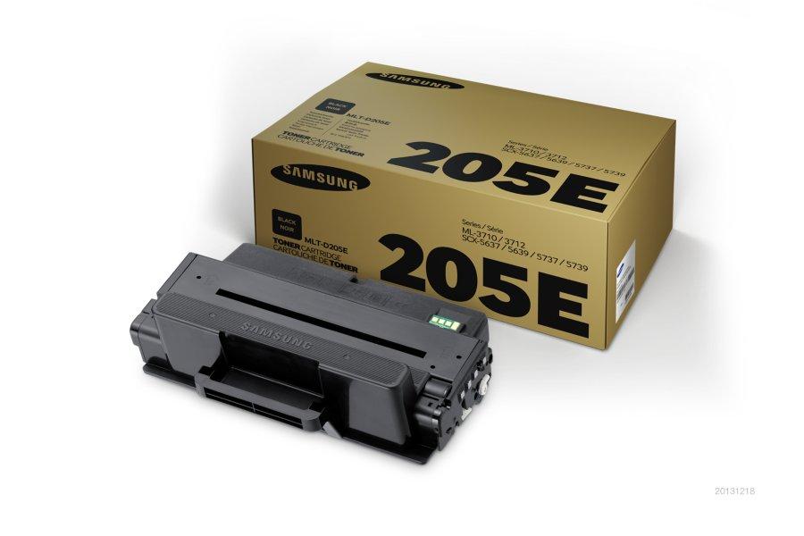 Samsung MLT-D205E ตลับหมึกโทนเนอร์ สีดำ ของแท้ Black Original Toner Cartridge (SU961A)
