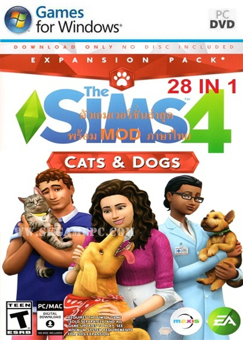 The Sims 4 28in1 ( 6 DVD )