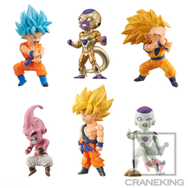 World Collectable Figure - Battle of Saiyans Vol.3 (ของแท้ลิขสิทธิ์)