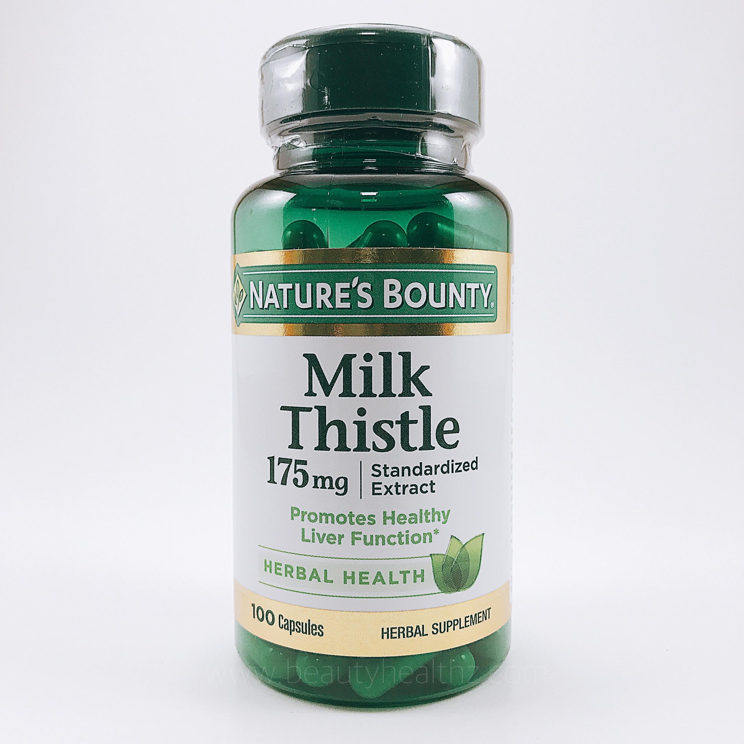 Nature's Bounty, Milk Thistle, 175 mg, 100 Capsules
