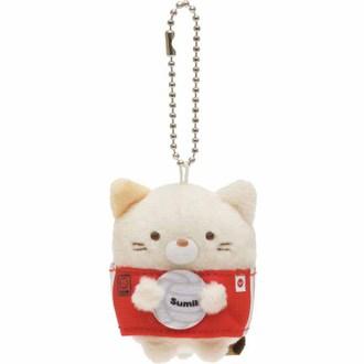 พวงกุญแจตุ๊กตา Sumikko Gurashi แมว-วอลเล่ย์