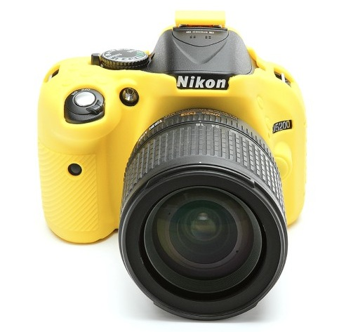 Nikon D5200 EasyCover Silicone Case -Yellow