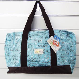 กระเป๋าเก็บอุณหภูมิใบใหญ่ Sumikko Gurashi สีฟ้า